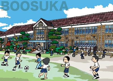 65・木造小学校